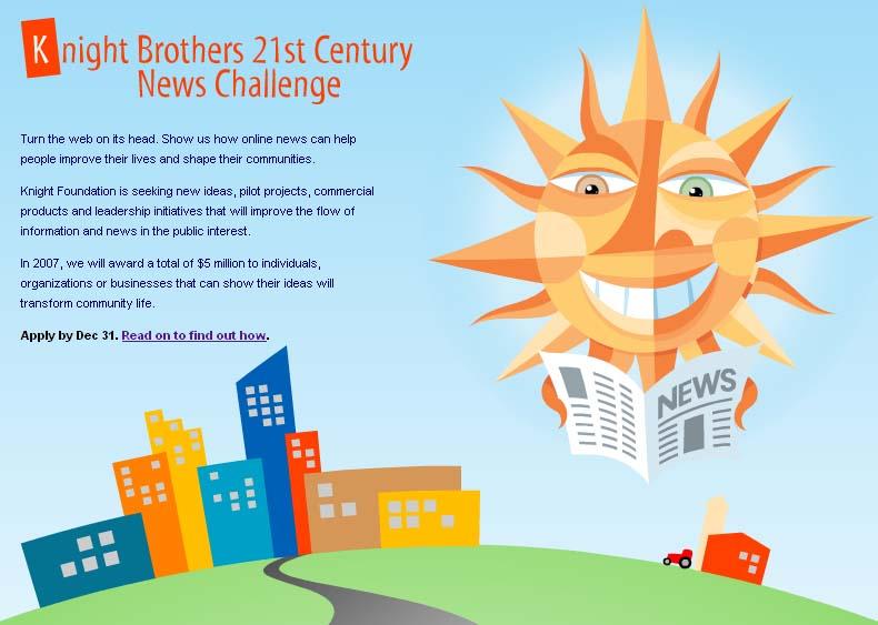 21st Century News Challenge!