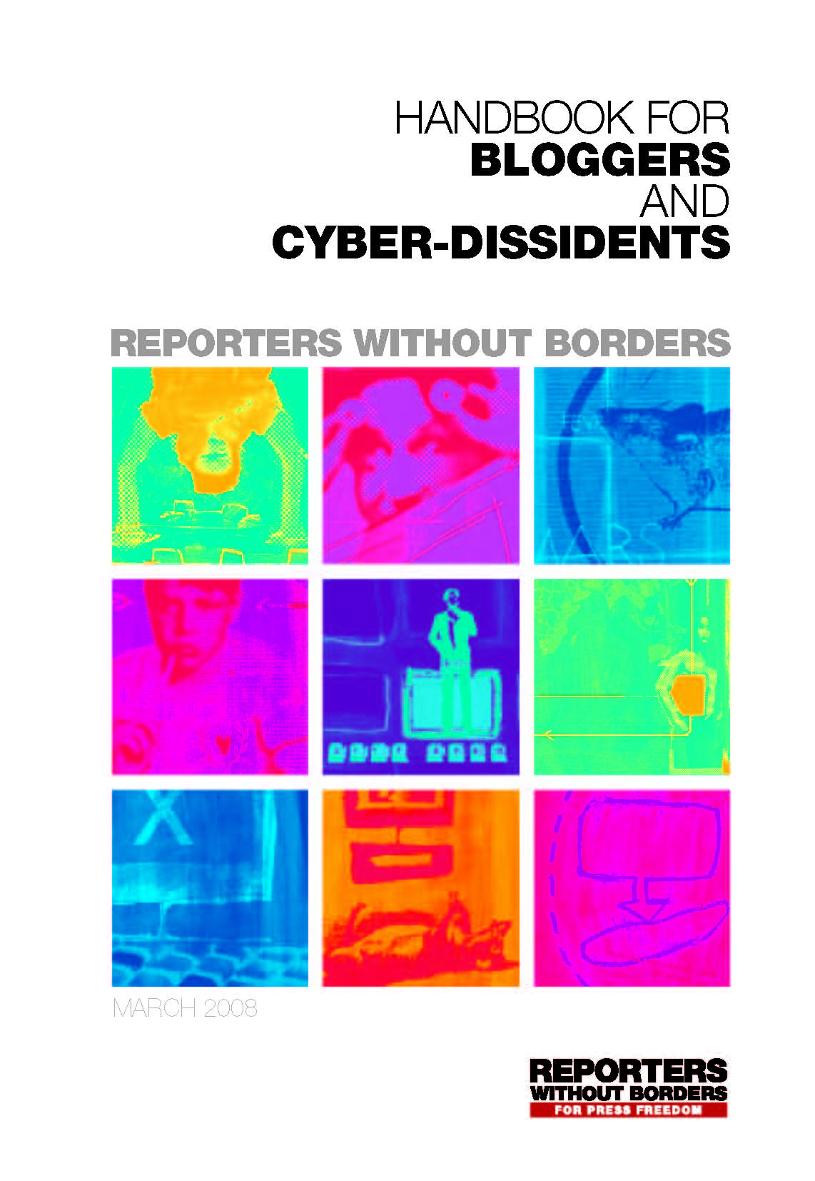 New version of Handbook for Bloggers and Cyber-Dissidents