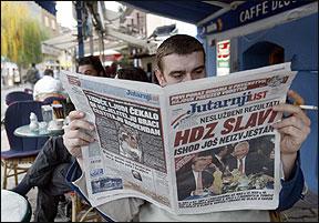 Хрватските печатени медиуми
