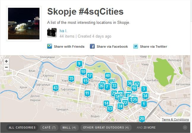 Foursquare заедницо ајде во акција!
