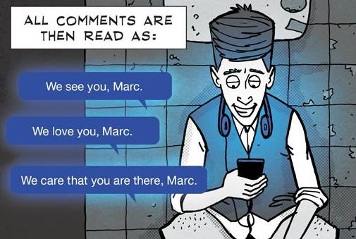Суровата вистина за социјалните медиуми преточена во одличен стрип