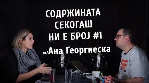 #комкаст 89 – За chat commerce, black friday и многу повеќе со Ана Георгиеска
