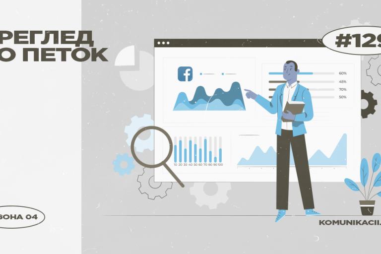 129 #ПрегледВоПеток – Facebook Analytics, Apple AR, LinkedIn совети…