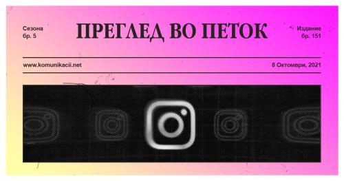 151 #ПрегледВоПеток – Facebook, Facebook, Facebook…